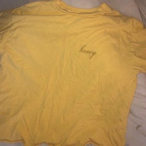 brandy melville honey t shirt